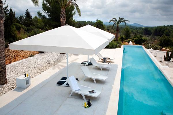 parasols de luxe maison du store et de la fermeture. Black Bedroom Furniture Sets. Home Design Ideas